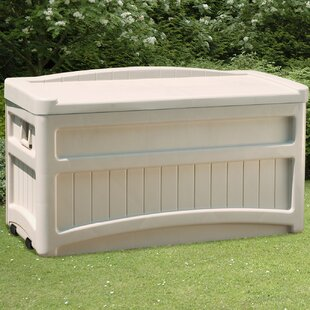 Plastic Garden Storage Bench Wayfair Co Uk