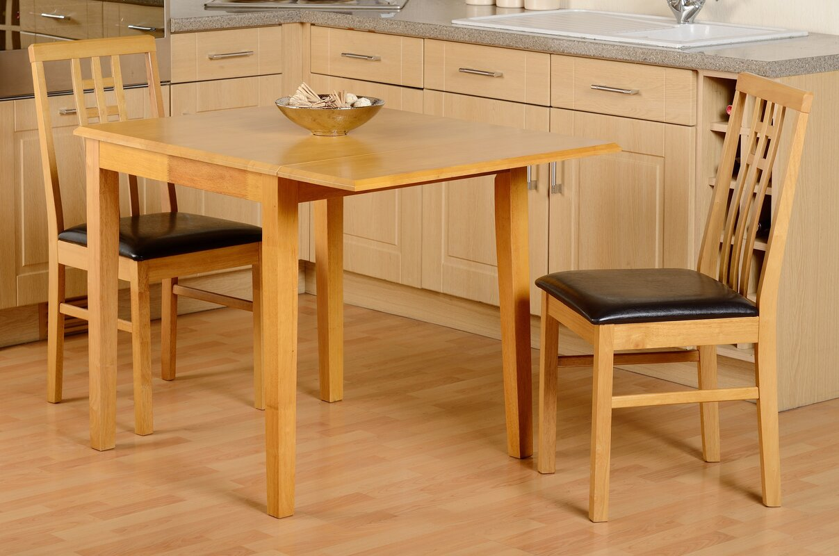 Amazing Kyle Folding Dining Set With 2 Chairs