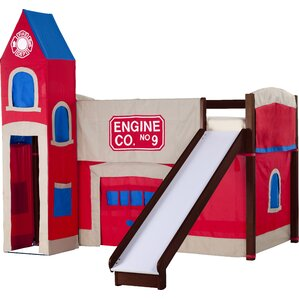 loft with slide. lyric firehouse loft with slide