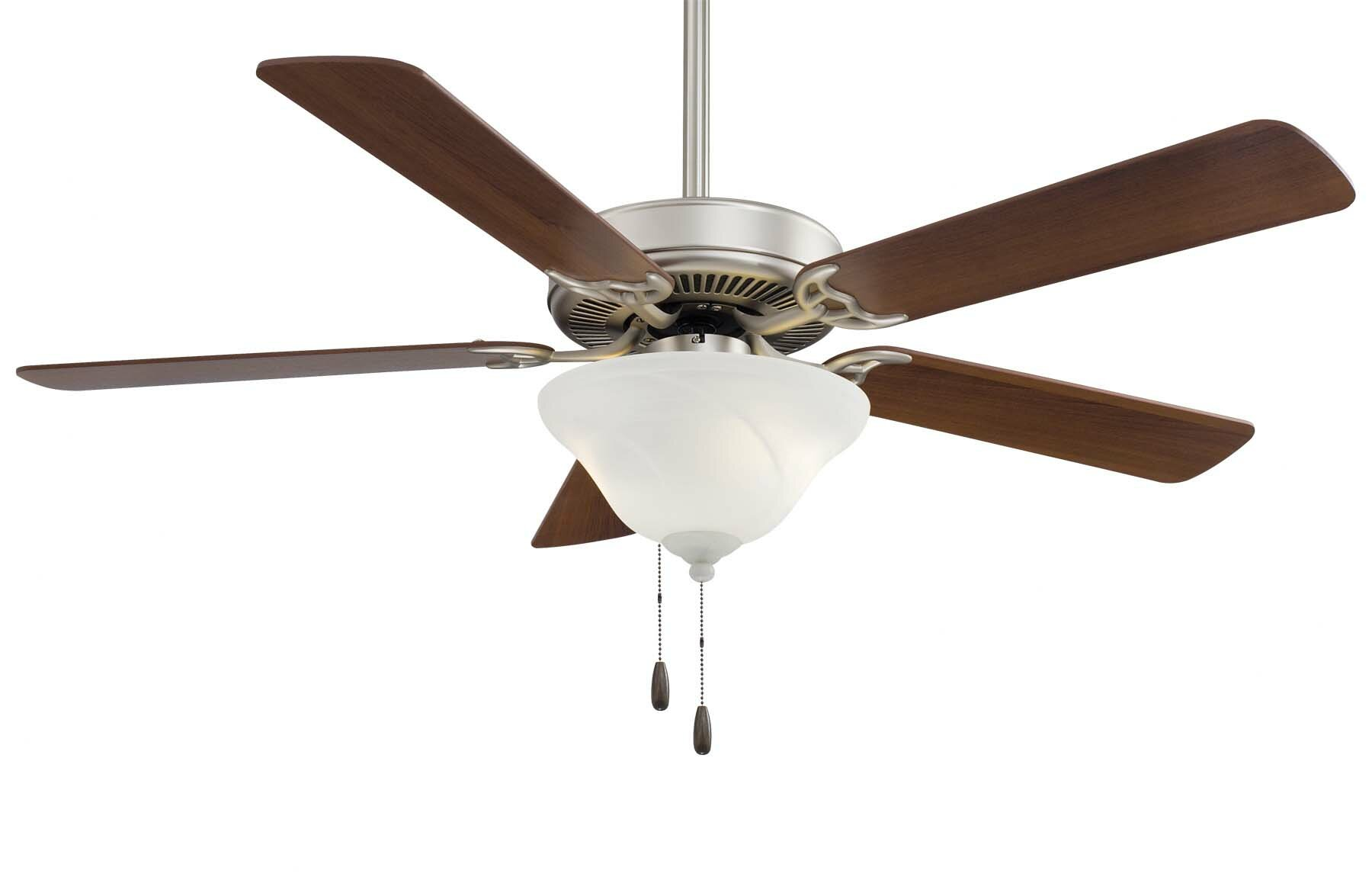 "Minka Aire 52"" Contractor 5 Blade Ceiling Fan & Reviews"