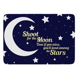 Moon And Stars Quote by NL Designs Bath Mat