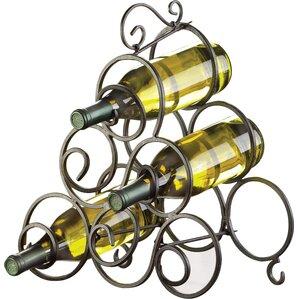 Nelda 6 Bottle Tabletop Wine Rack by Fleur De Li..
