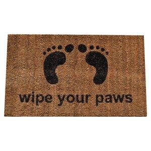Molded Wipe Your Feet Doormat
