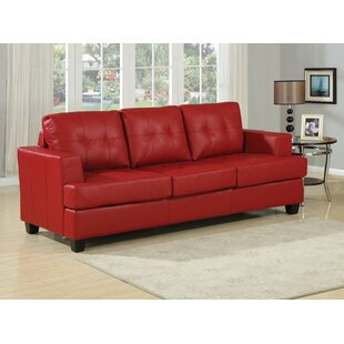 Red Tufted Sofa Beds You\'ll Love | Wayfair