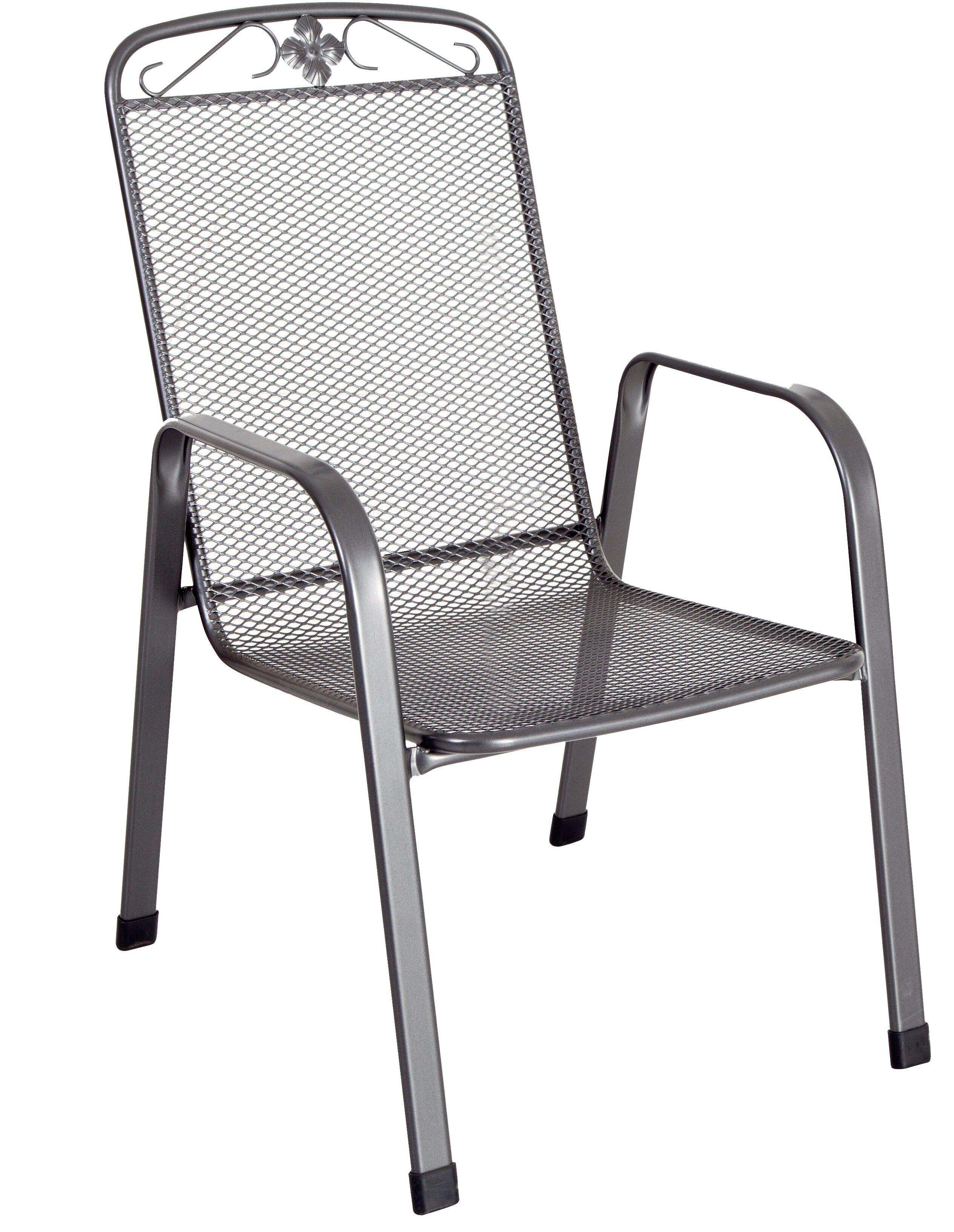 4db31f1c7feb MWH Das Original Savoy 4 Piece Stacking Garden Chair Set