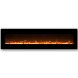 Lima Crystal Wall Mount Electric Fireplace by Gibson Living