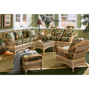 Indoor Rattan Living Room Sets | Wayfair