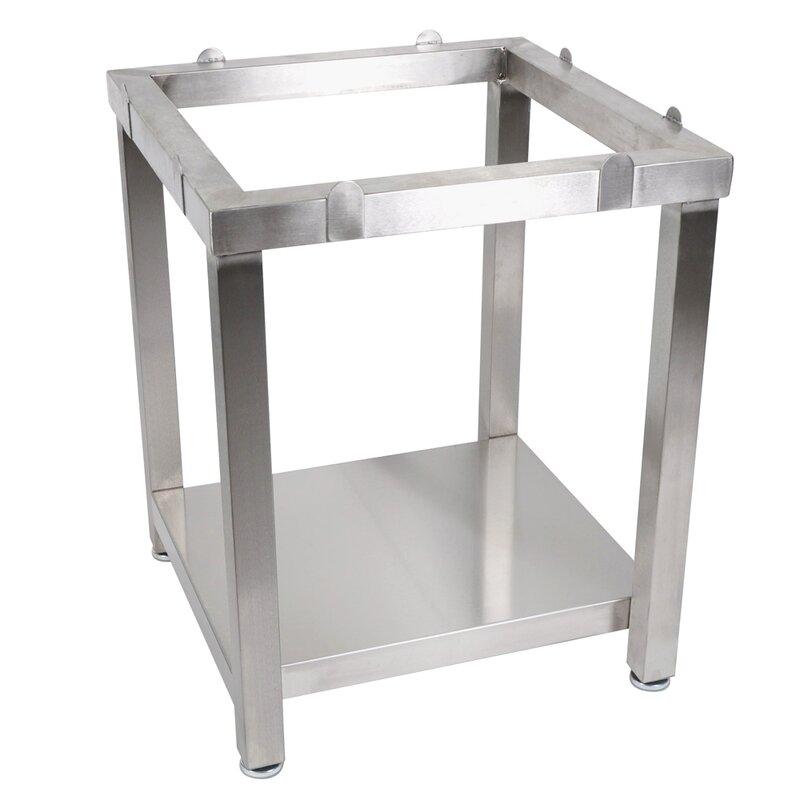 John Boos Cucina Americana Butcher Block Prep Table Base Wayfair - Metal butcher table