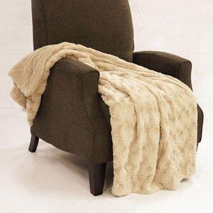 Swirl Faux Fur Throw Blanket