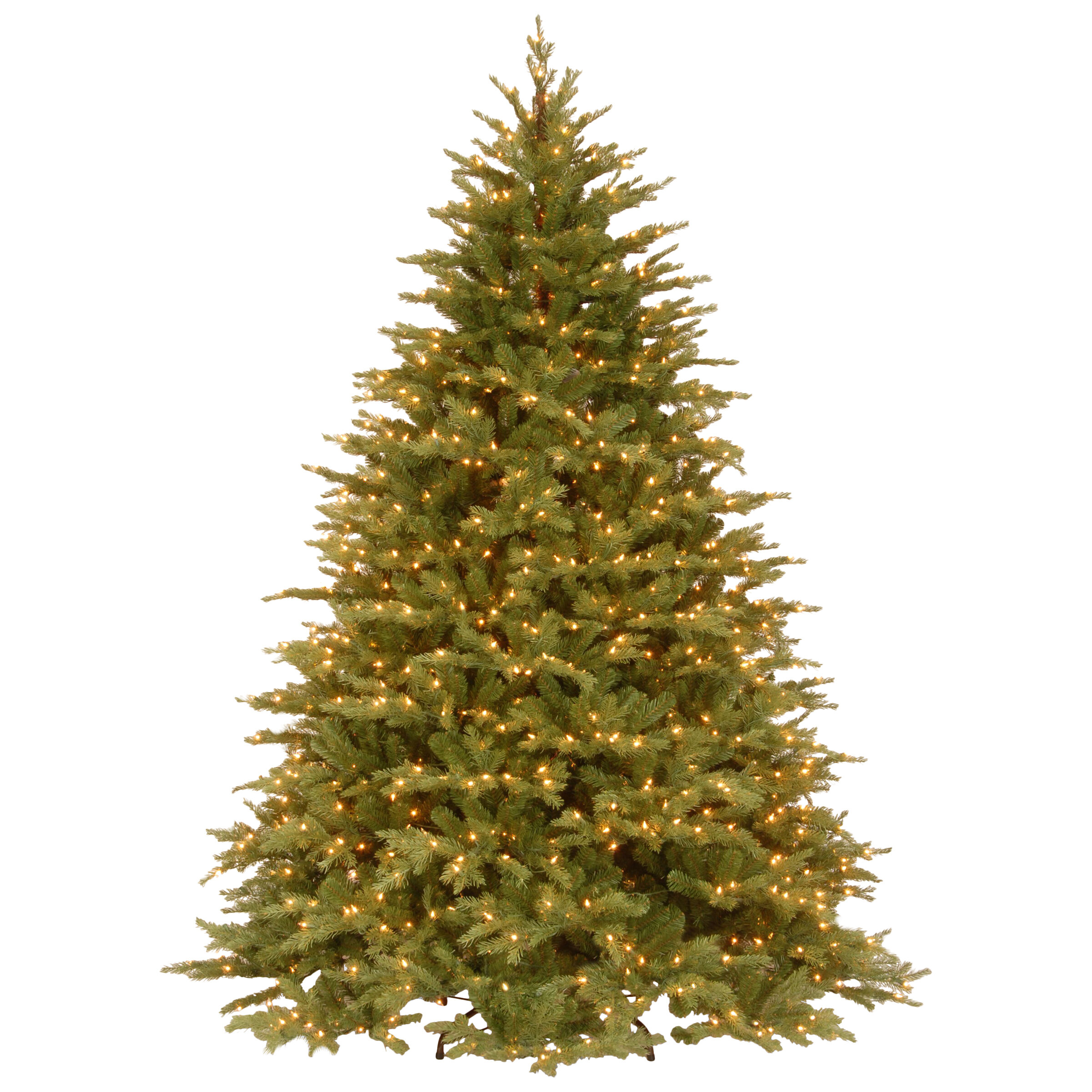 The Holiday Aisle Nordic 7.5\' Green Spruce Artificial Christmas Tree ...