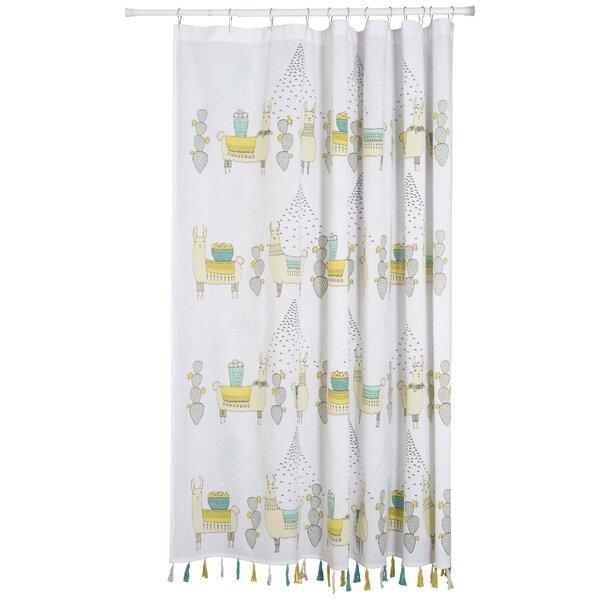 Danica Studio Llamarama 100% Cotton Shower Curtain | Wayfair