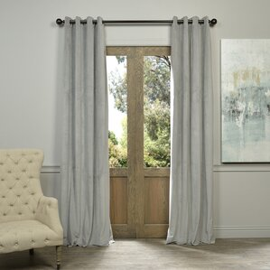 Sharpe Solid Max Blackout Grommet Single Curtain Panel