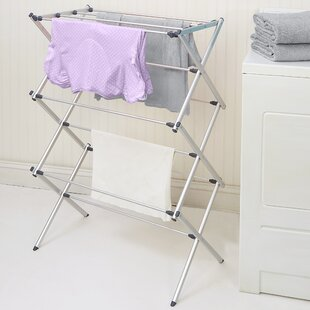 laundry rack p drying heavy portable us folding clothes hanger storage dryer s duty