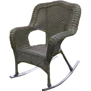 narron wicker resin outdoor rocking chair set of 2