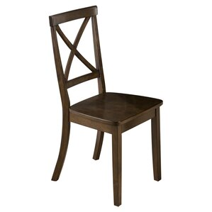 Stolz X-Back Side Chair (Set of 2) by Three Posts