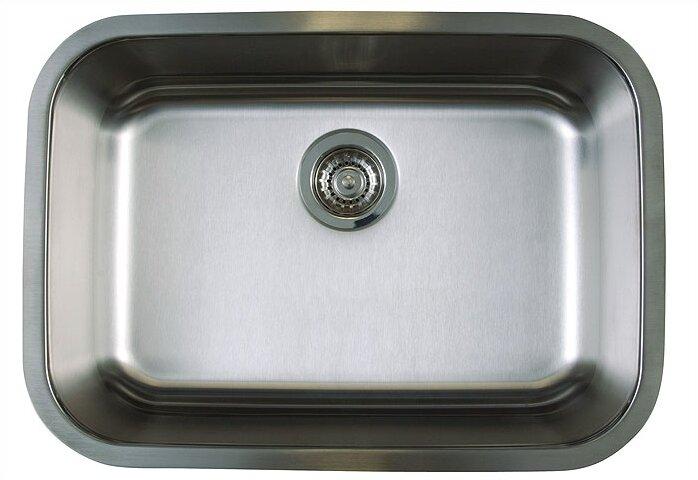 """Undermount Kitchen Single Sink blanco stellar 25"""" x 18"""" medium single bowl undermount kitchen"""
