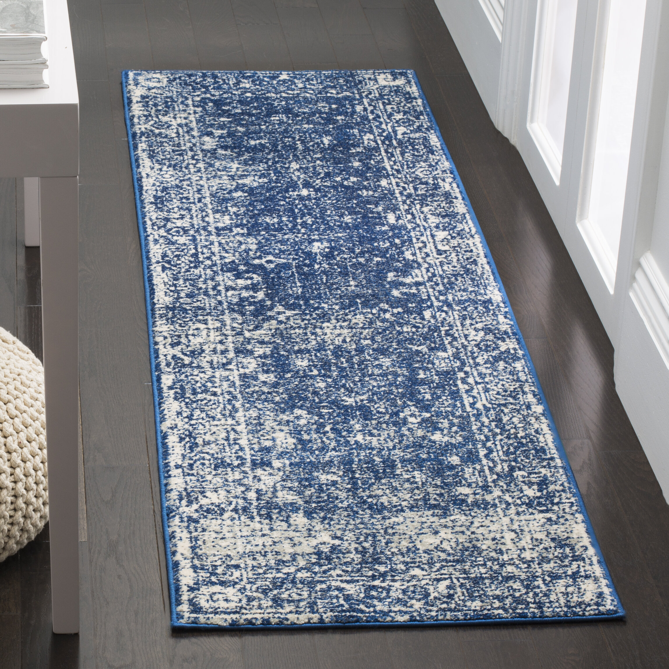 Ophelia & Co. Esperance Blue/Beige Area Rug