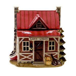 Lakeside Lodge Cookie jar