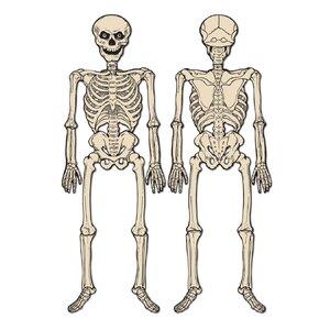 Halloween-Vintage Jointed Skeleton