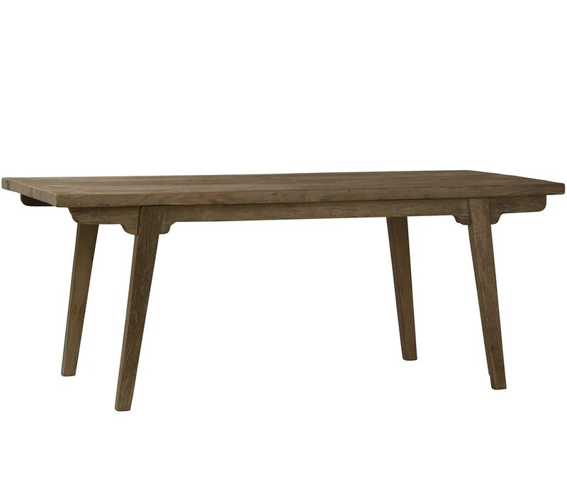 Ohman Solid Wood Dining Table