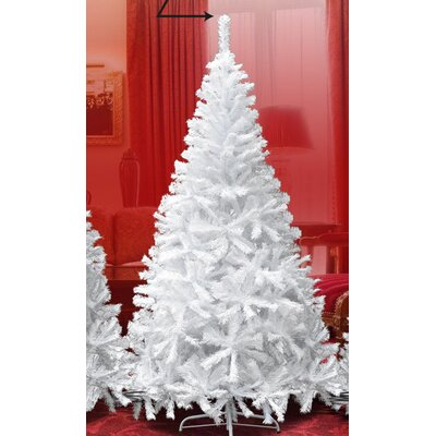 new realistic natural branches 75 white classic pine artificial christmas tree - 75 White Christmas Tree