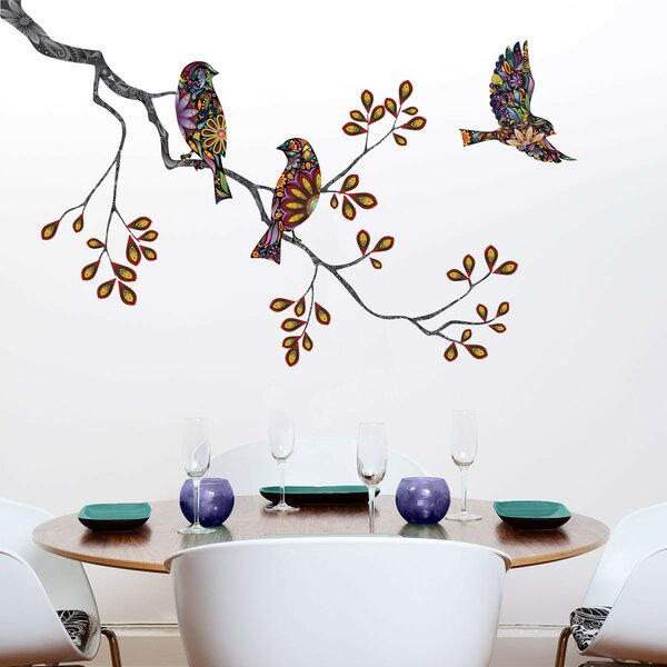 charming Wall Stickers Tree Branch Part - 16: Tree Branch Wall Decal | Wayfair