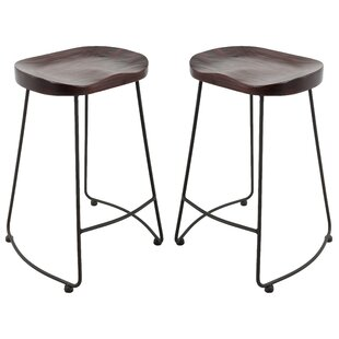 Hathaway Brage Living Adjustable Height Barstool (Set of 2)