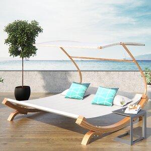 Rhett Friendship Harbor Double Chaise Lounge with Cushion