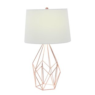 Modern contemporary metal wire table lamp allmodern metal wire 23 table lamp greentooth Images