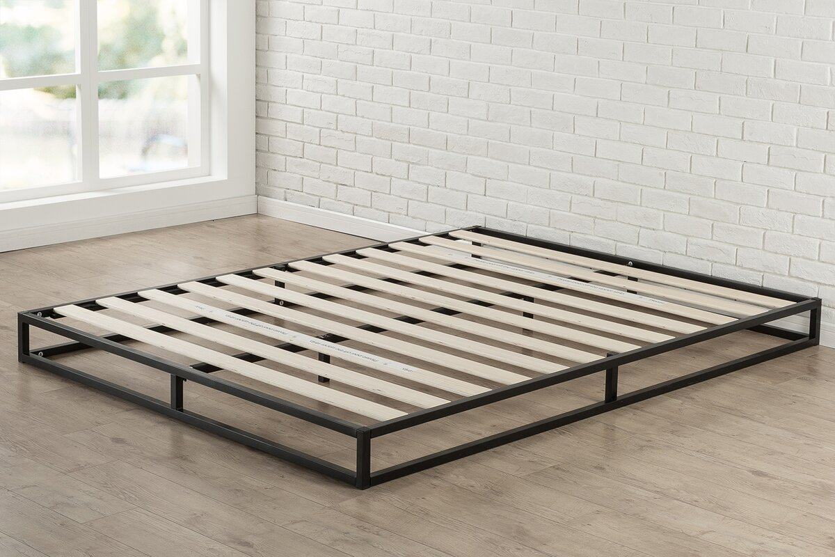 latitude run st germain platform bed reviews. Black Bedroom Furniture Sets. Home Design Ideas