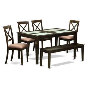 Smyrna 6 Piece Dining Set by Charlton Home