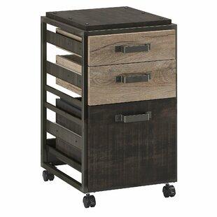 Charmant Rosemarie 3 Drawer Mobile Vertical Filing Cabinet
