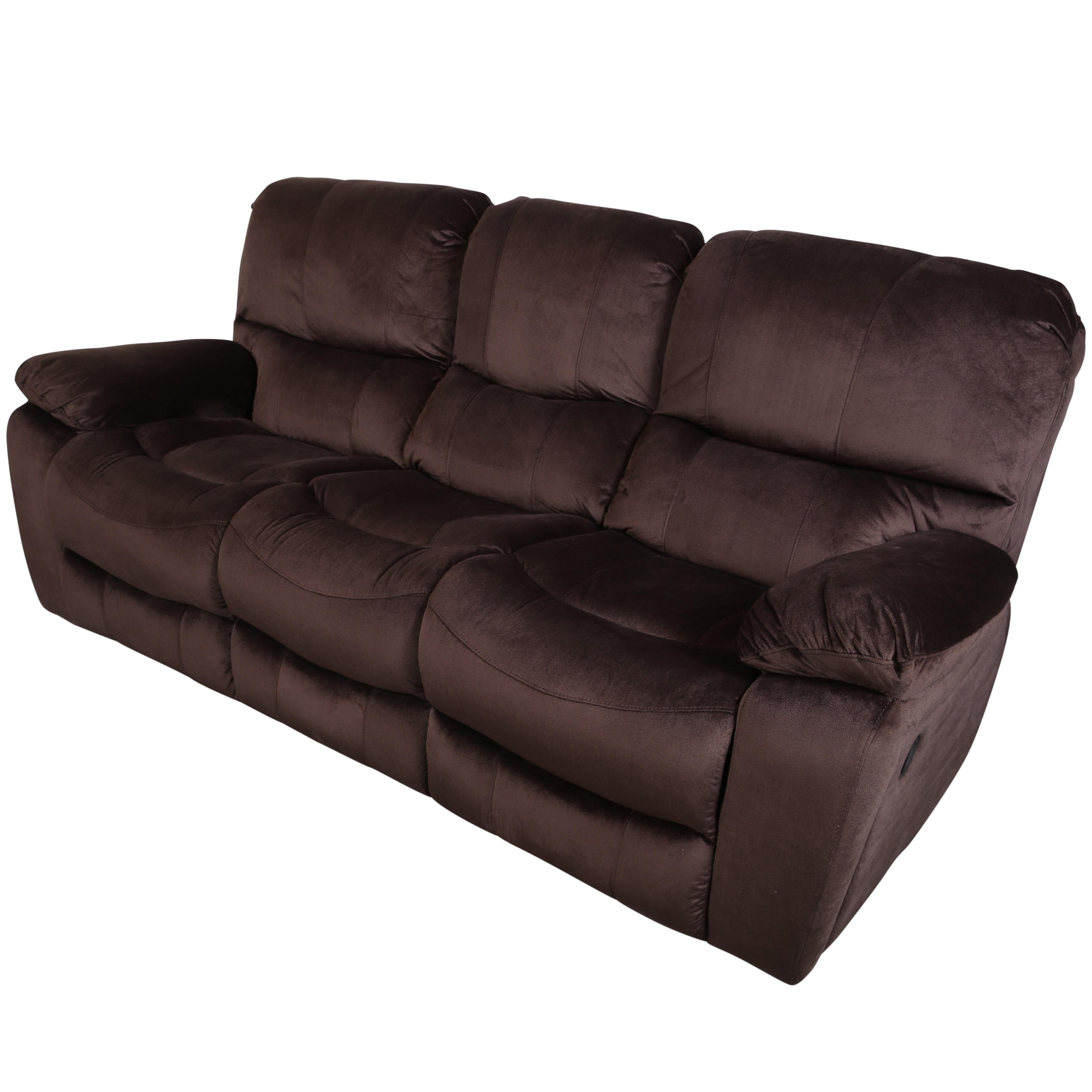 Rashida 3 Seats Reclining Sofa
