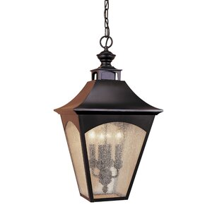 Clairsville 4-Light Outdoor Hanging Lantern