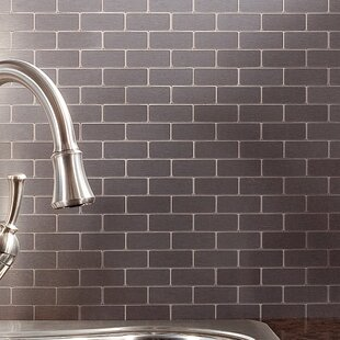 Stainless Steel Peel And Stick Backsplash Tile Youll Love Wayfair