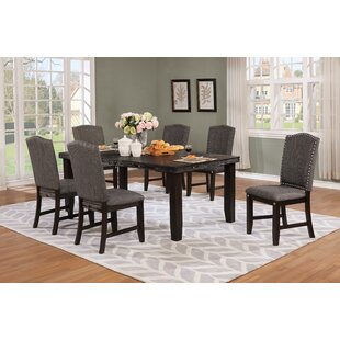 Dutchess 7 Piece Solid Wood Dining Set