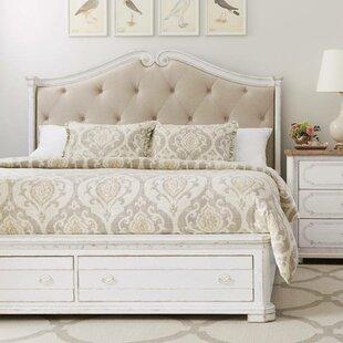 Juniper Dell Upholstered Storage Platform Bed By Stanley Furniture
