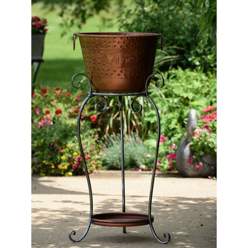 Willson Beer And Wine Ice Bucket Stand