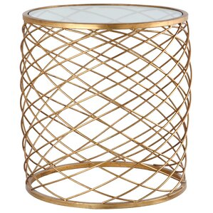 Criss Cross End Table by Mariana Home