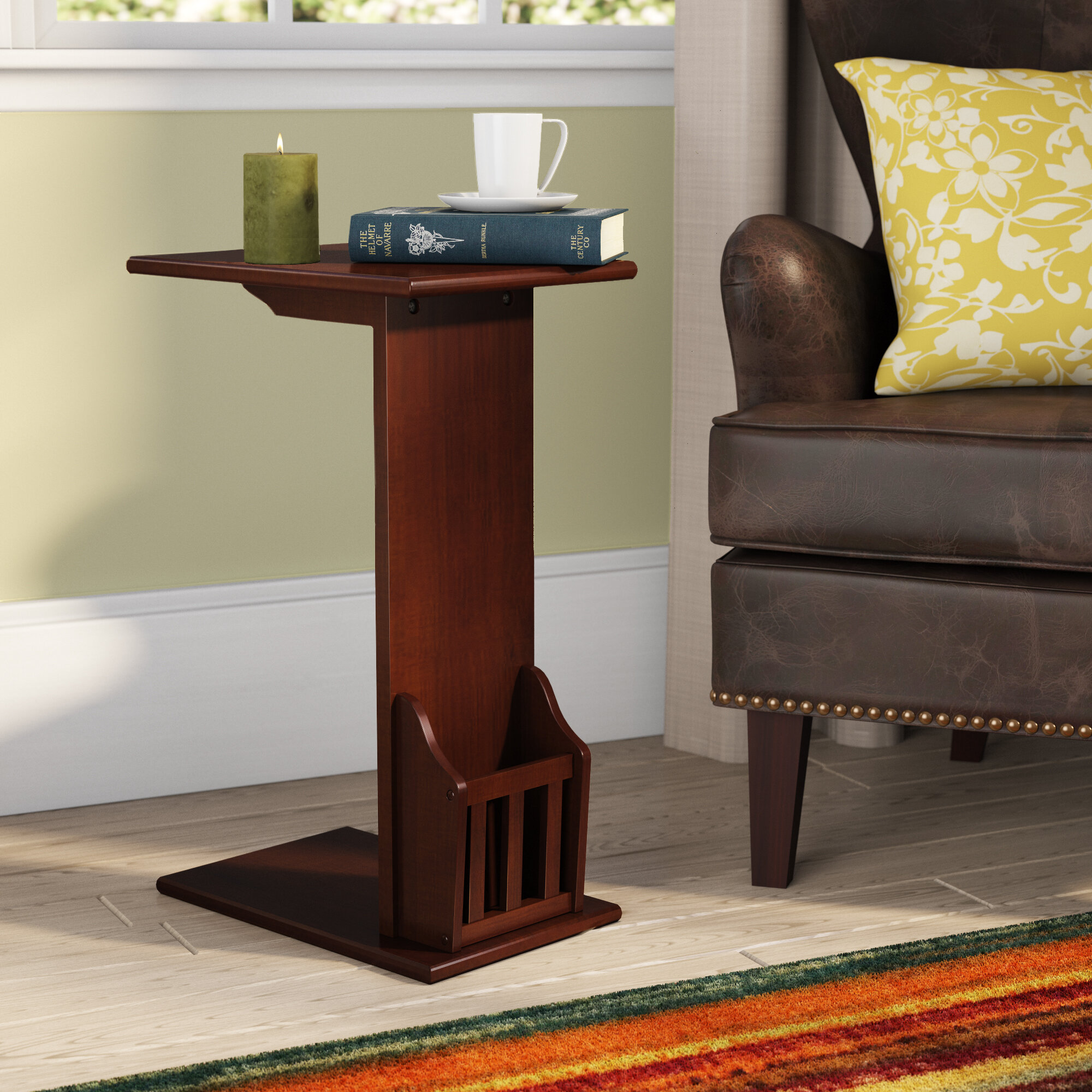 Alcott Hill Gammons End Table U0026 Reviews | Wayfair