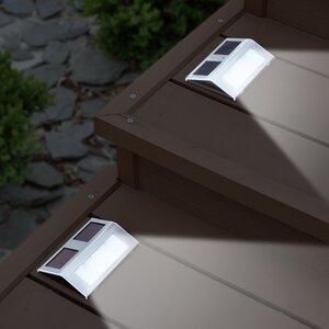Solar 2-Light LED Step Light (Set of 2)