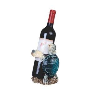 Waldron Sea Turtle 1 Bottle Tabletop Wine Rack