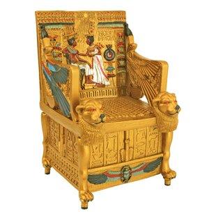 King Tutu0027s Golden Throne Treasure Box  sc 1 st  Wayfair & Lion Throne Chair   Wayfair