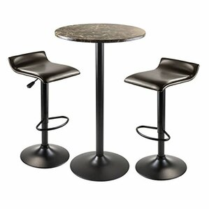 Cora 3 Piece Pub Table Set by Luxury Home