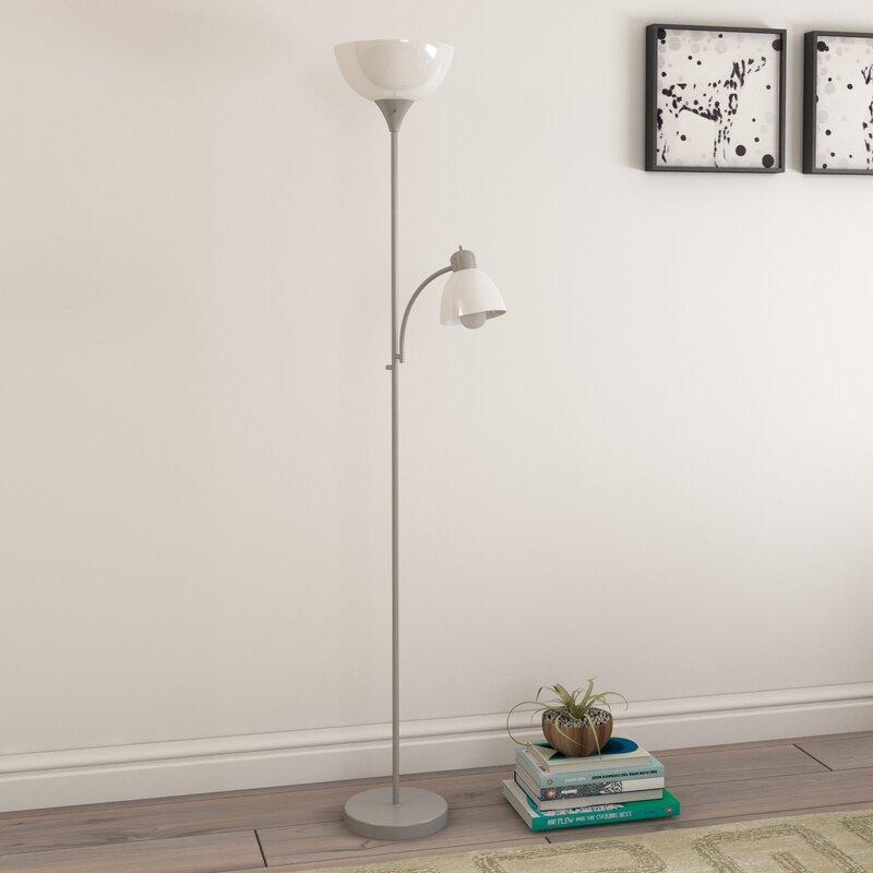 Zipcode Design 7165 Led Torchiere Floor Lamp Reviews Wayfair
