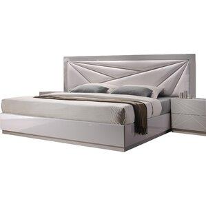 Ernesto Upholstered Platform Bed by Wade Logan