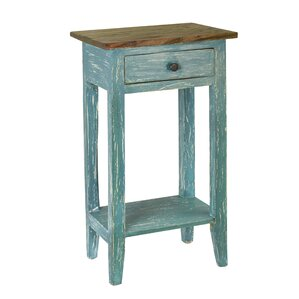 Cusseta End Table With Storage by August Grove