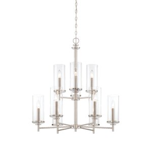 Harlowe 9-Light Candle-Style Chandelier