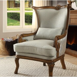 Wendland Wingback Chair by Astoria Grand