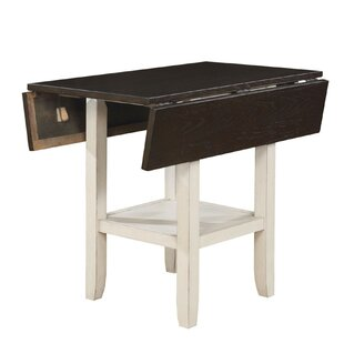 Darvell Dual Tone Solid Wood Pub Table
